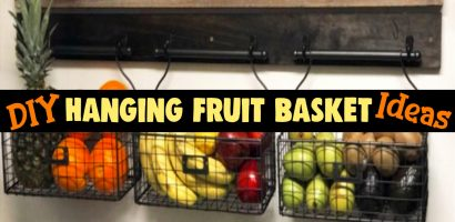 DIY Hanging Fruit Basket Ideas and PICTURES – Unique and Easy Wall Mounted Fruit Baskets