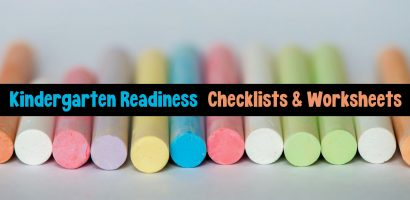 Kindergarten Readiness Free Printables, Checklists and More