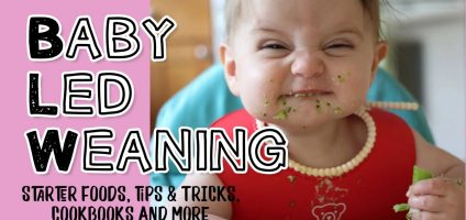 Baby Led Weaning Tips: Baby Led Weaning First Foods, Recipes, BLW Charts & More Ideas