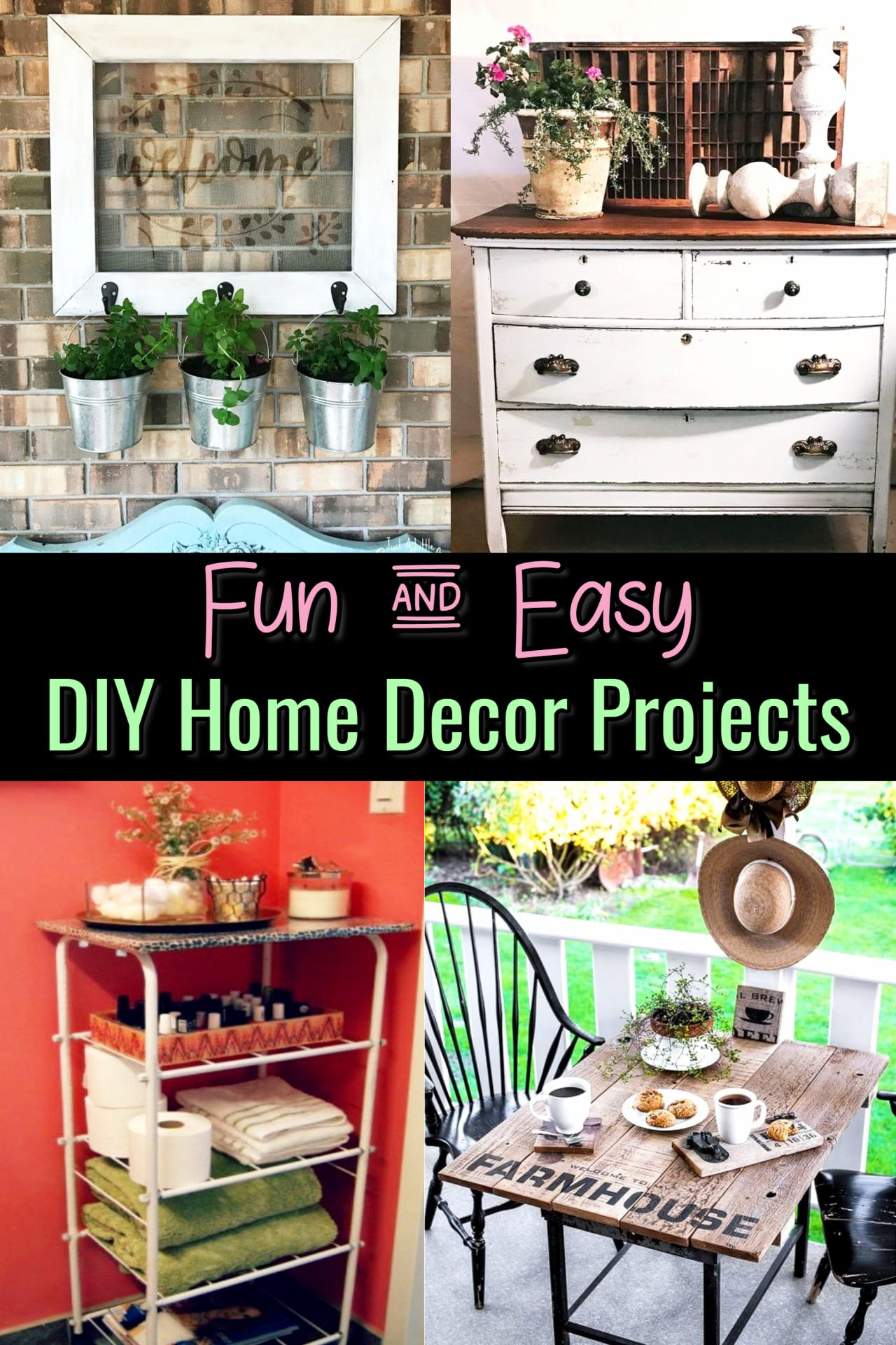DIY Crafts For The Home Projects We Love