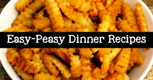 easy dinner recipes with few ingredients