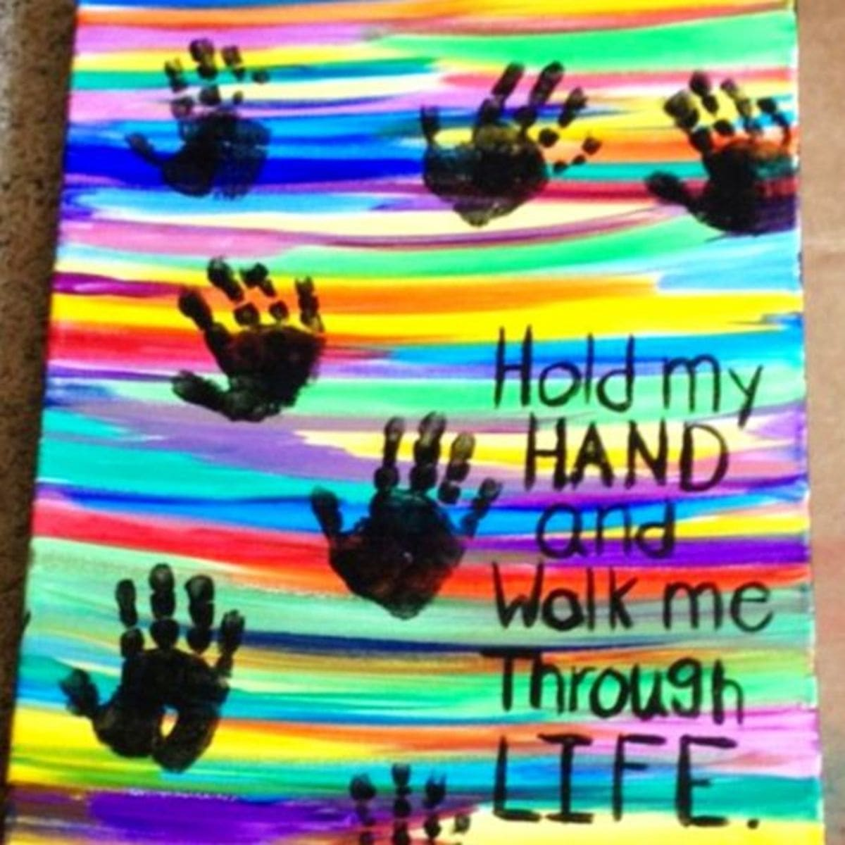 old my hand gift for dad or mom