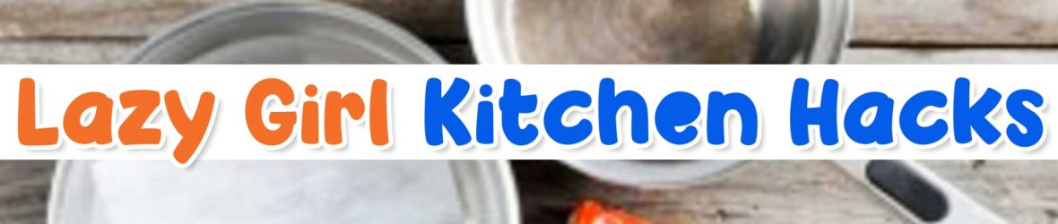 Messy Kitchen?  Try These 7 Lazy Kitchen Cleaning Hacks That Actually Work!