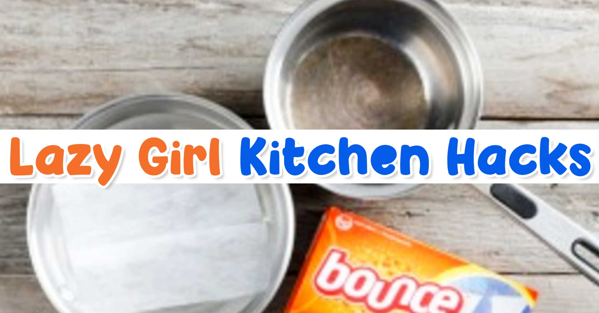 lazy cleaning hacks for your kitchen - these cleaning hacks really work!