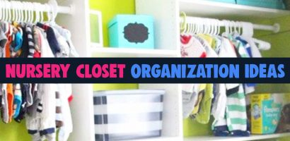 Baby Closet Ideas: 47 Nursery Closet Organization, Storage and Baby Closet Organizer Ideas