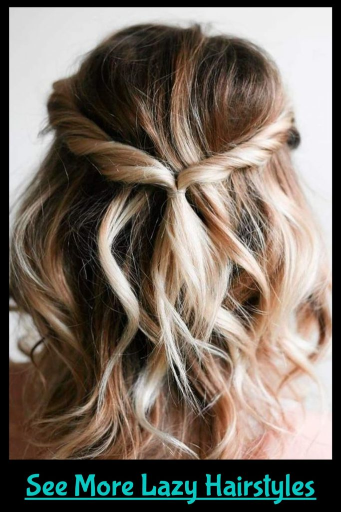 MORE lazy hairstyles for lazy girls! Easy hairstyle ideas and tutorials