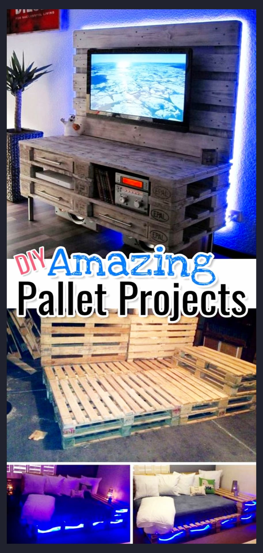 DIY pallet projects - easy furniture pallet projects to make and sell - how to build pallet furniture and more easy pallet projects