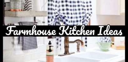 Farmhouse Kitchen Ideas and PICTURES For a Country Farmhouse Kitchen on a Budget