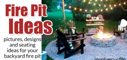 Fire Pit Ideas- PICTURES, Seating & Designs For an Outdoor FirePit