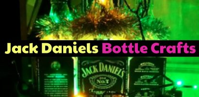 Jack Daniels Bottle Crafts – 99+ DIY Whiskey Bottle Crafts Ideas