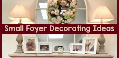 DIY Foyer Decorating Ideas For Small Foyers and Apartment Entryways