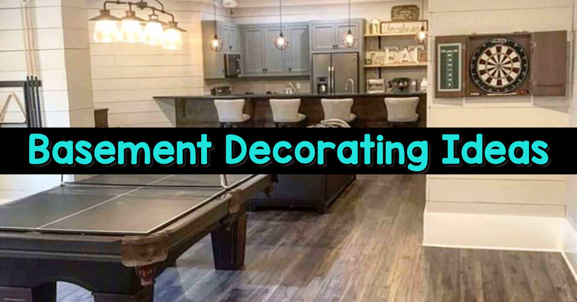 Basement Ideas! Gorgeous DIY finished basement ideas on a budget - partially finished basement ideas and small basement decor ideas for finishing and decorating a basement on a budget