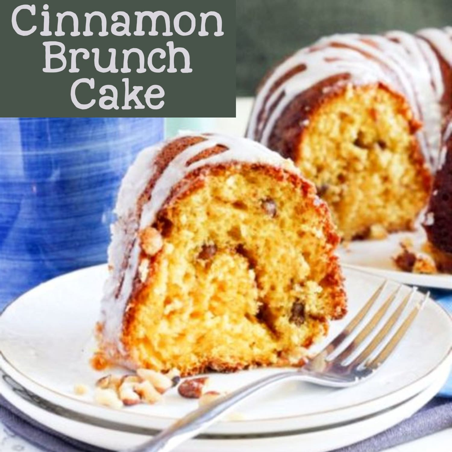 Brunch coffee cake and more make ahead breakfast ideas for a crowd or holiday guests - easy breakfast bundt cakes and coffee cakes