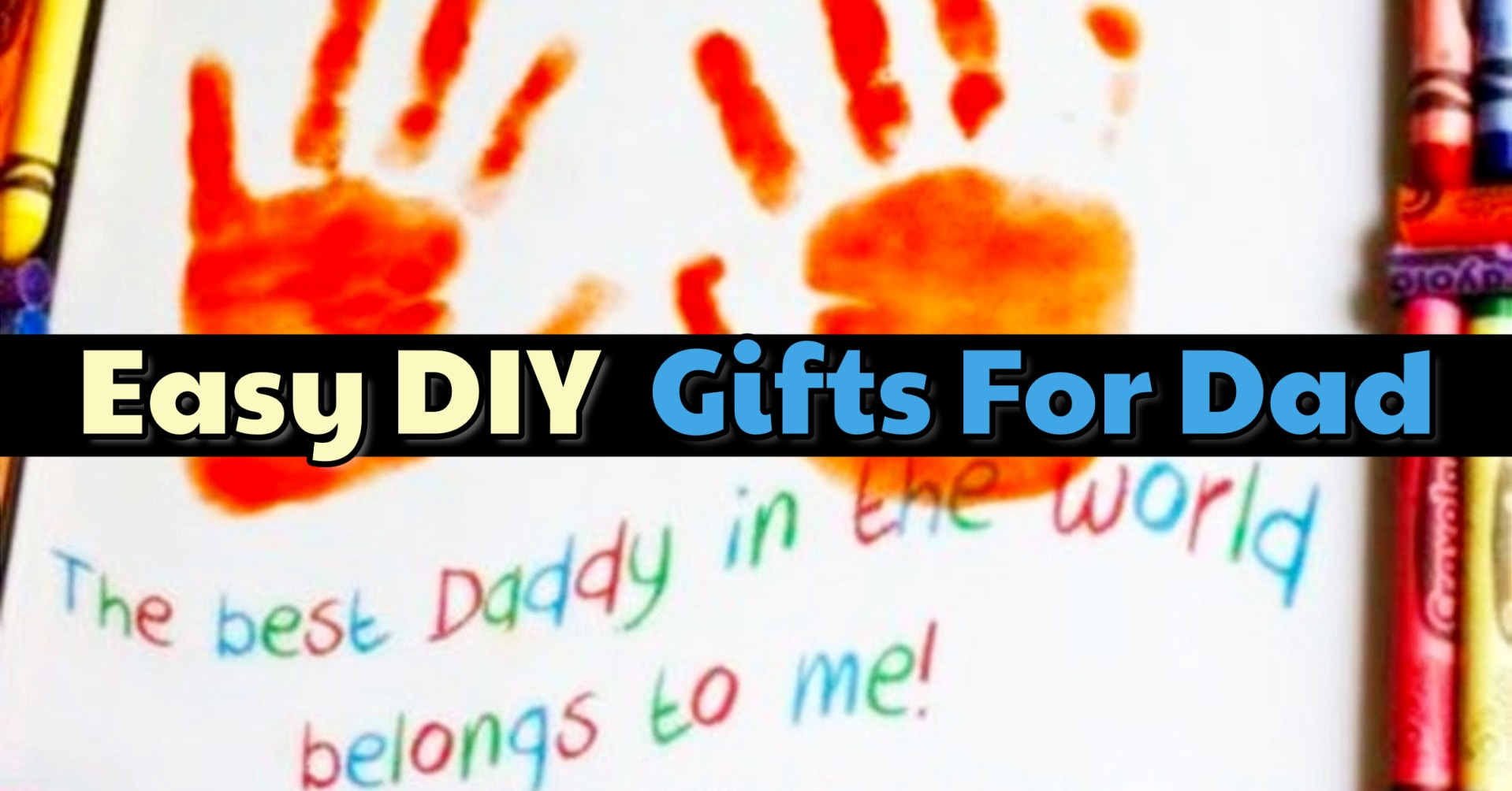 4fac43a399504 54 Easy DIY Father's Day Gifts From Kids and Fathers Day Crafts for ...