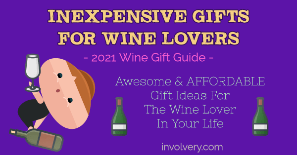 inexpensive gifts for wine lovers - wine gift ideas image
