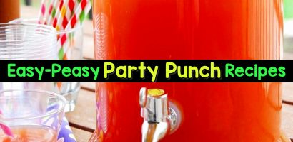 11 Easy Punch Recipes For a Crowd – Simple Party Drinks Ideas (both NonAlcoholic and With Alcohol)