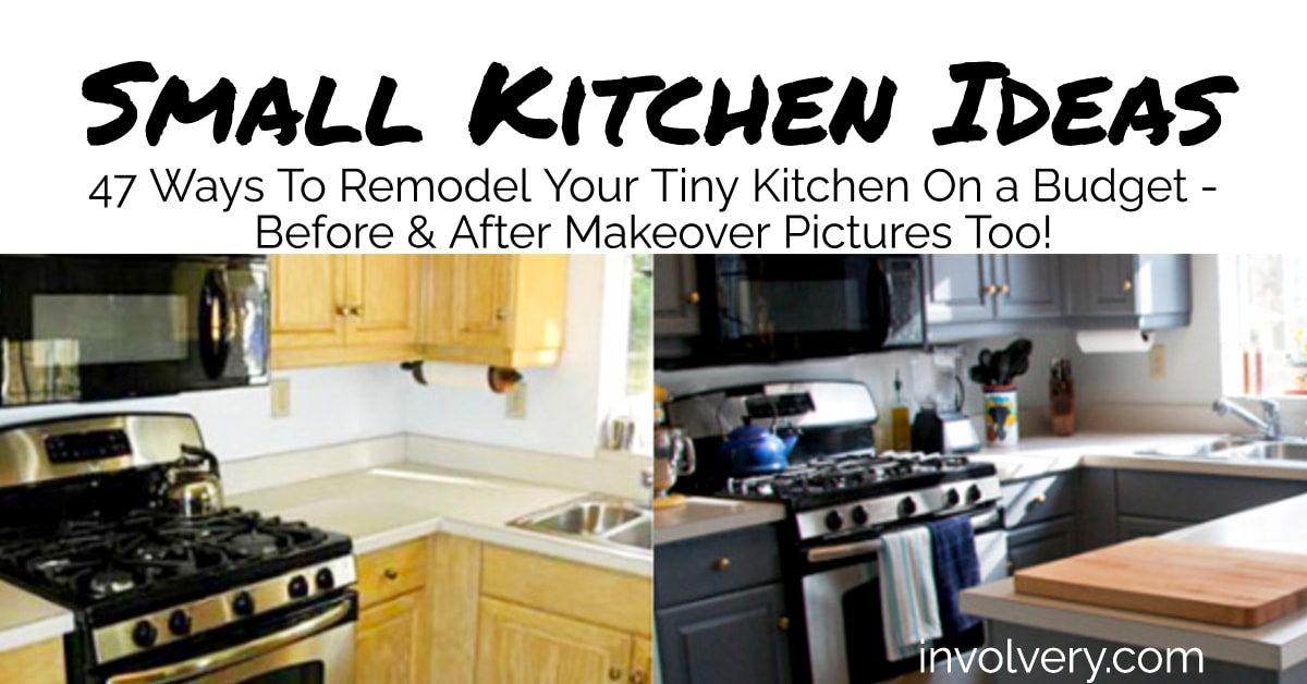 small kitchen ideas on a budget picture