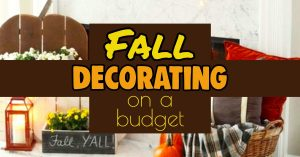 Fall Decor ideas - Decorating For Fall On a Budget - Inexpensive & Unique Fall Decor ideas to make your house Hobby Lobby Fall ready