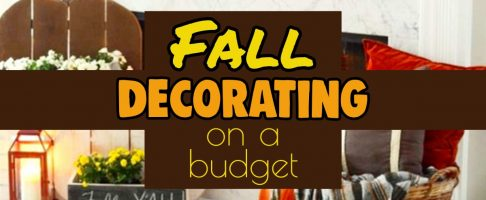 {Unique Fall Decor Ideas } Decorating For Fall on a Budget in Hobby Lobby Style