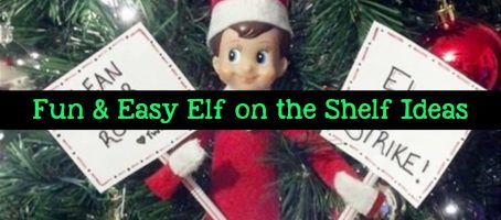 101+ Elf on the Shelf Ideas for Christmas  (crazy elf! such pranks!)