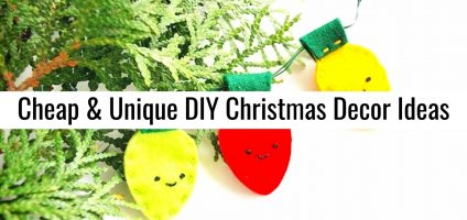 DIY Christmas: Unique and Unusual Christmas Decorations To Make This Holiday