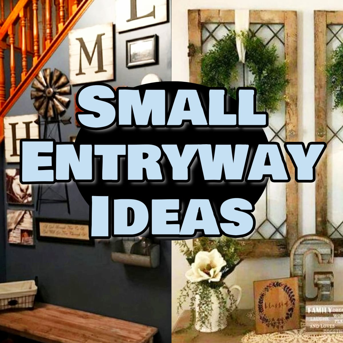 Small Entryway ideas - pictures of foyer decorating ideas for small entryways and apartment foyers