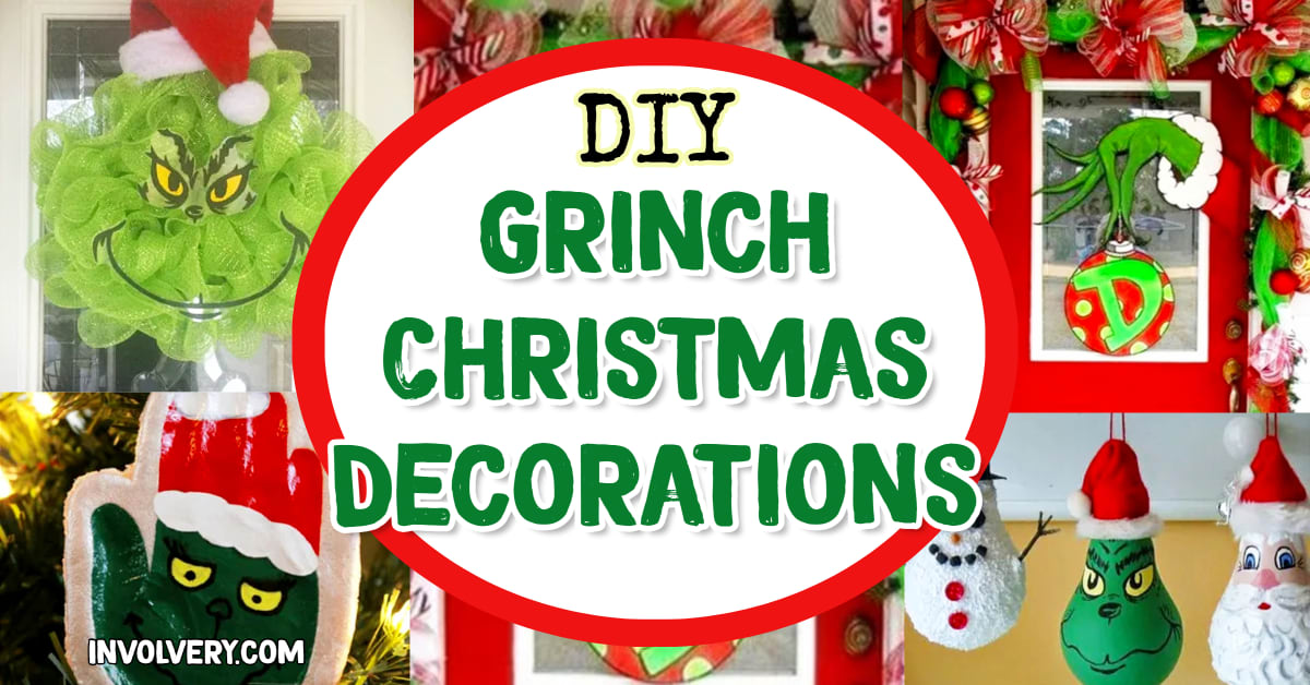 Grinch Christmas Decorations - DIY Grinch Christmas Decor, Ornaments Outdoor Decorations and Grinch Christmas Tree Ideas