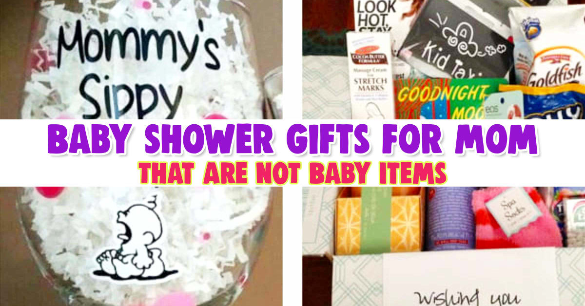 Non baby gifts for new moms - baby shower gifts for mom not baby