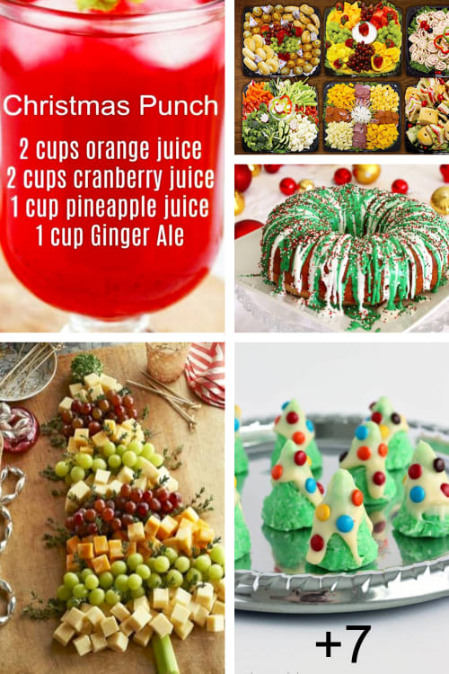 Christmas Holiday Party Ideas For Hosting a Christmas Party at Home - Best Holiday potluck desserts, low key Christmas party ideas for work or family gatherings.  Christmas Holiday party food and desserts for a crowd make ahead party appetizers, last minute Christmas party desserts and more easy Christmas party ideas.