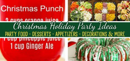 Christmas Holiday Party Ideas For Hosting a Christmas Party At Home or Work