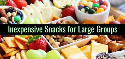 Large Batch Party Food – Inexpensive Snacks For Large Groups and Big Crowds