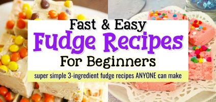 3 Ingredient Fudge Recipes For Beginners – Learn How To Make Fudge The EASY Way