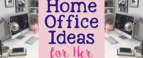 37 Home Office Ideas For Women Who Want a Beautiful WorkSpace