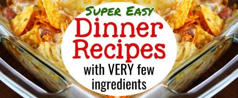 Cheap & Easy Dinner Recipes with Few Ingredients- Kid Approved!