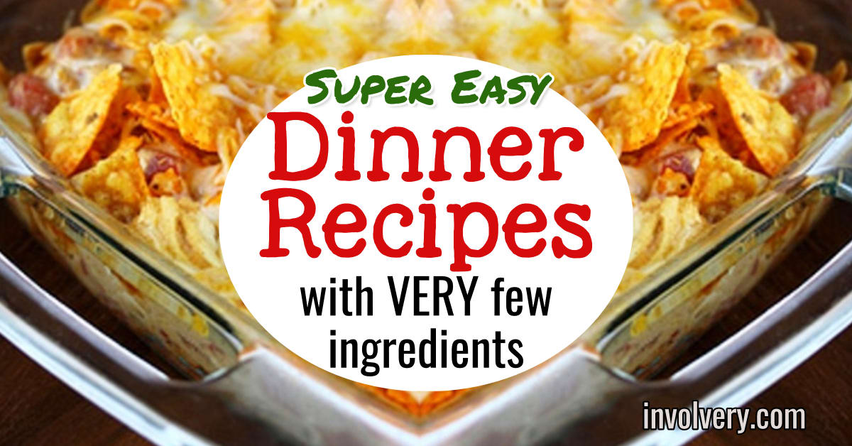 easy dinner recipes for family - healthy, cheap, quick and simple dinner recipes for family with picky eaters - these are the perfect quick family meals on a budget for weeknight dinners