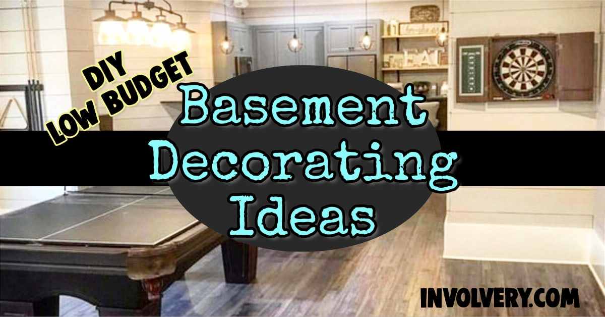Basement decorating ideas - small finshed basement ideas, low budget decor and more remodeling ideas to convert and finish your basement on a budget