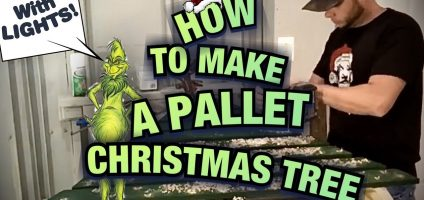 DIY Pallet Christmas Tree Ideas – We Tried It!