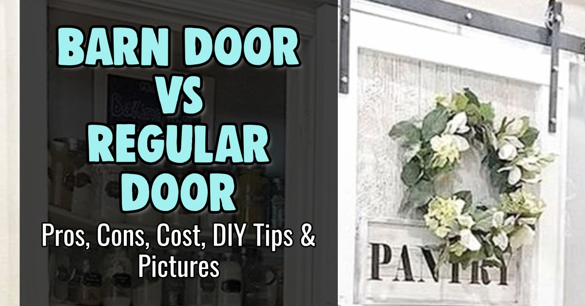 barn doors installed pros cons cost and images