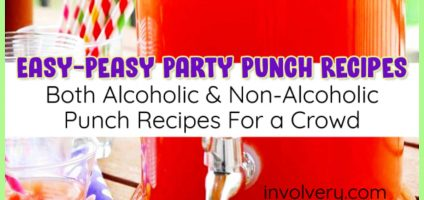 11 Easy Punch Recipes For a Crowd – Best Alcoholic and Non-Alcoholic Party Punch Recipes & Simple Party Drinks