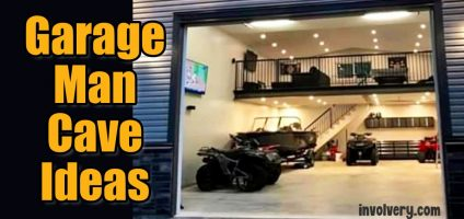 Small Man Cave Ideas-Garage To Man Cave on a Budget…Step by Step