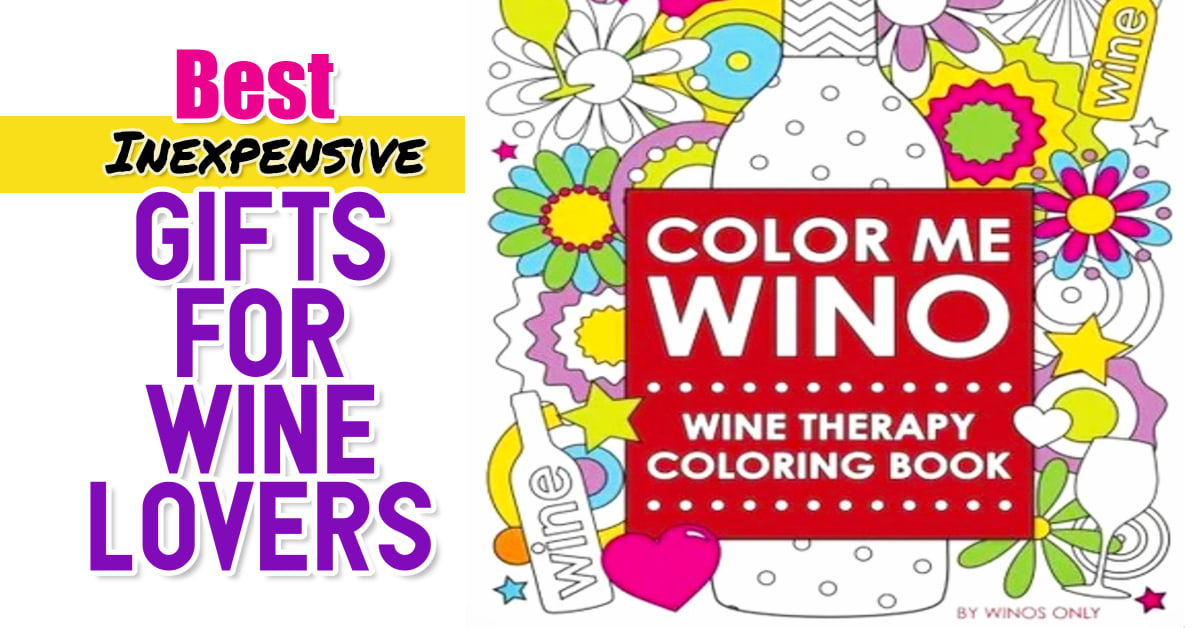 Gifts for Wine Lovers! Best inexpensive gifts for wine drinkers and people who love wine (for all budgets)