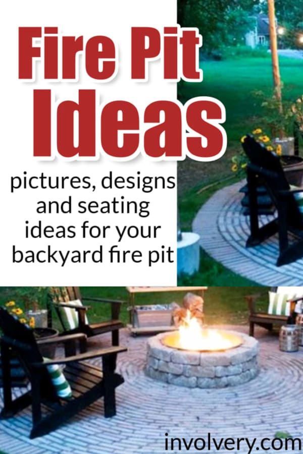 Fire Pit Designs - Outdoor DIY & Stone Fire Pit Ideas for a Backyard Fire Pit On a Budget - PICTURES too