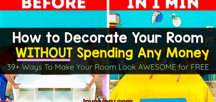Aesthetic Room Ideas: How To Decorate Your Room WITHOUT Buying Anything – 39+ Decorating Ideas To Redecorate Your Room For Free