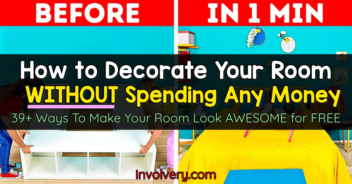 how to make your room aesthetic without buying anything