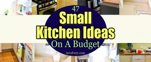 47 Small Kitchen Ideas & Pictures For a Low Budget Makeover