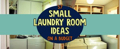 57 Small Laundry Room Ideas For a Low Budget DIY Makeover